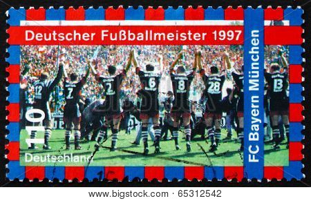 Postage Stamp Germany 1997 Fc Bayern Munchen
