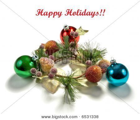 Holiday greeting background