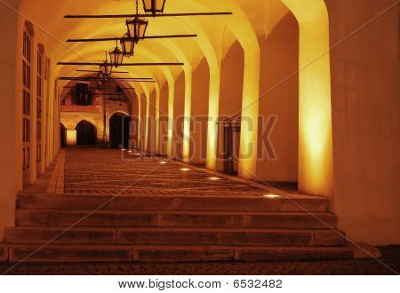 medieval gangway