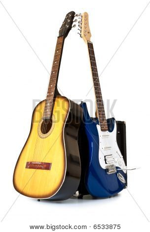 Acoustic And Electric Guitars