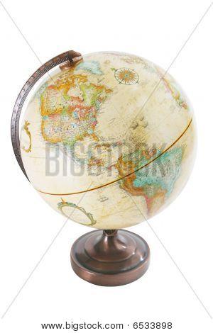 Silo World globe