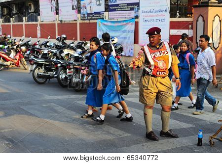 Thailand policeman