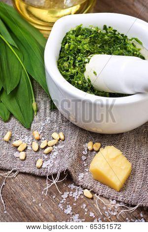 Pesto Ramson