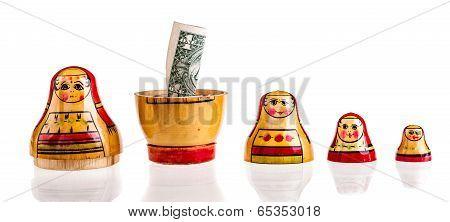 Dollar Within Matryoshka