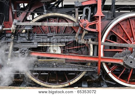 Active Steam Locomotive