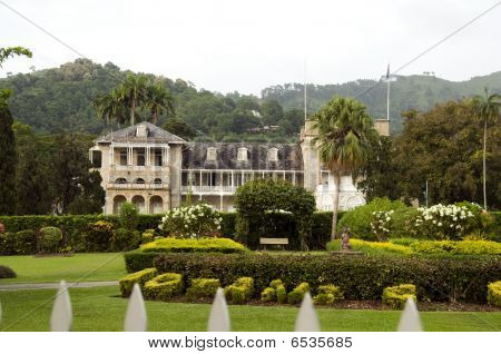 Presidential Palace Port Of Spain Trinidad And Tobago