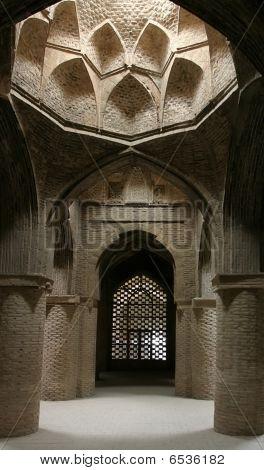 Interior Jameh (friday) Mosque. Isfahan. Iran