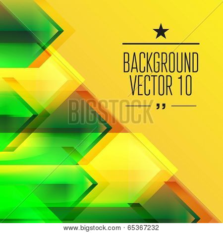 Abstract geometry triangle background with sparks and flashes. Vector Illustration, Graphic Design Editable For Your Design.