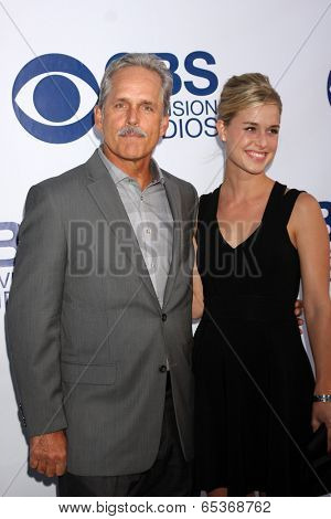LOS ANGELES - MAY 19:  Gregory Harrison at the CBS Summer Soiree at London Hotel on May 19, 2014 in West Hollywood, CA