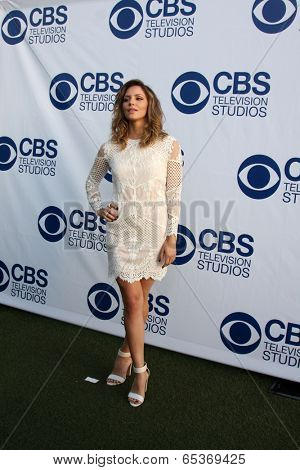 LOS ANGELES - MAY 19:  Katharine McPhee at the CBS Summer Soiree at London Hotel on May 19, 2014 in West Hollywood, CA