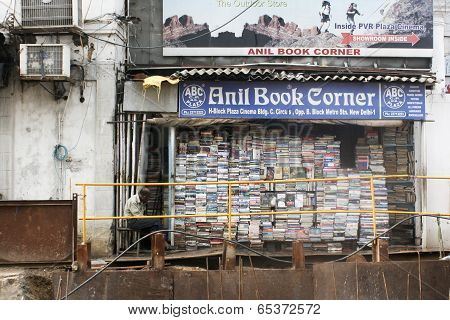 Bookshop in New Delhi, India