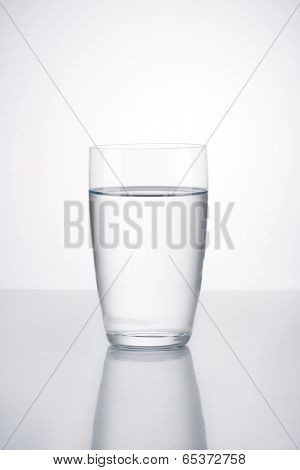 Glass of wather, isolated