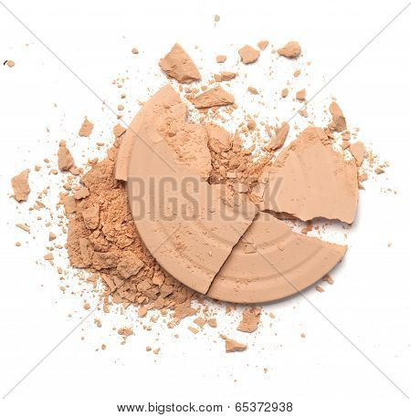 Powder Isolated On White