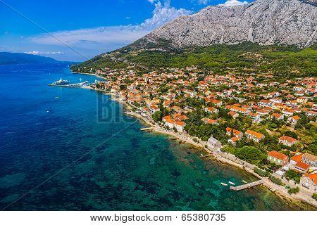 Orebic town in Croatia