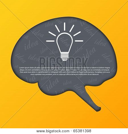 Human Brain Abstract Background