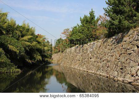 Japanese Castle Walls