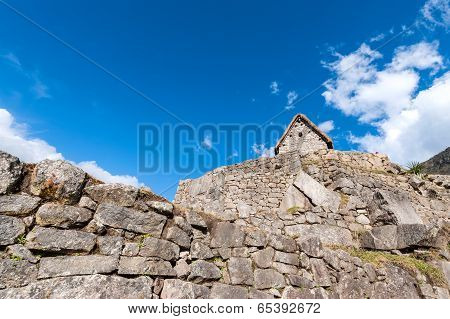 Guardhouse In Machu Picchu, Andes, Sacred Valley, Peru