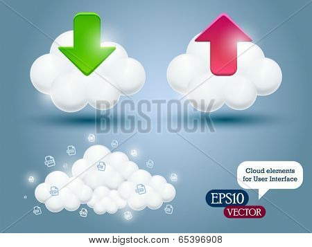 Vector cloud for User Interface