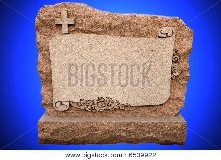 Blanked Headstone