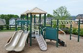 picture of swingset  - A kids playground set - JPG