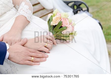 Wedding Details With Flowers