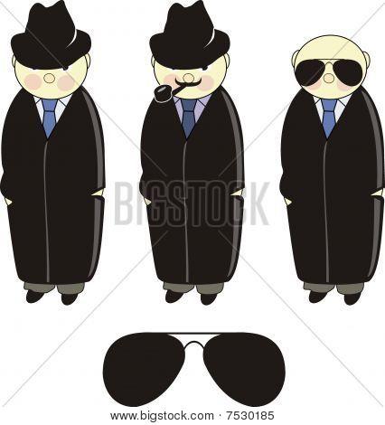 Inspector. Detective. Agent. Criminal.