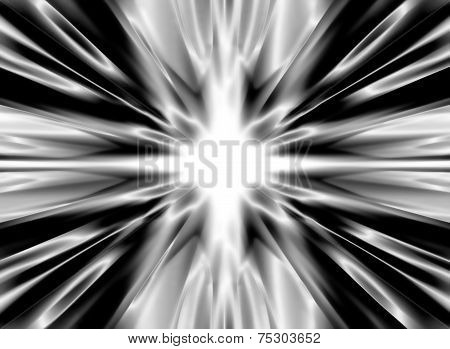 Shiny Black Silk Background