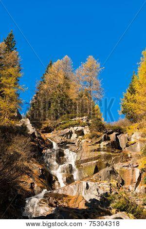 Waterfall - Adamello Trento Italy