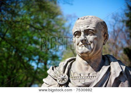 Vespasian Portrait - Roman Emperor Bust