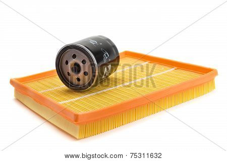 Air Filter Car, Oil Filter
