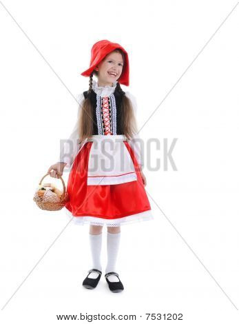 Little Girl In A Red Cap