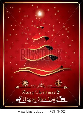 Christmas greeting card for companies