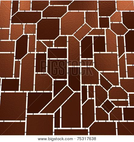 Brown Mosaic