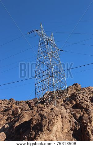 Pylon On The Rocks