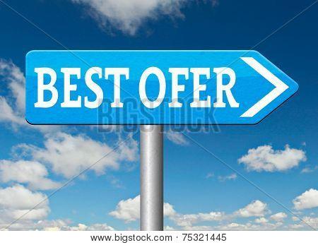 best offer lowest price for value web shop or online promotion road sign
