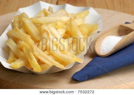 Fat Pommes With Salt