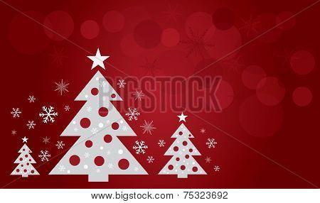christmas tree design art vector
