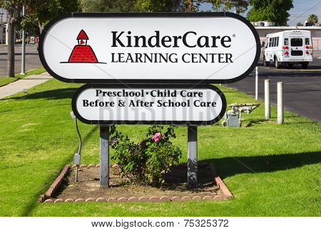 Kindercare Learning Center Sign And Exterior