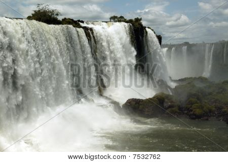Glory Of Iguazu Falls