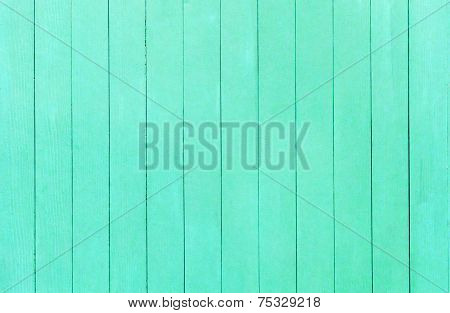 Old Green Wood Wall Background