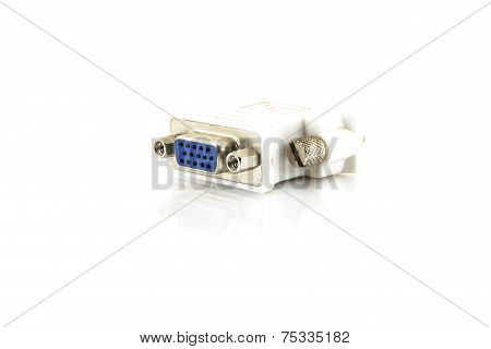 Adapter Dvi To Vga