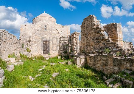 Medieval Monastery Of Timiou Stavrou. Limassol District. Cyprus
