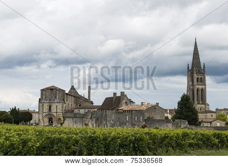 Saint-Emilion France Church