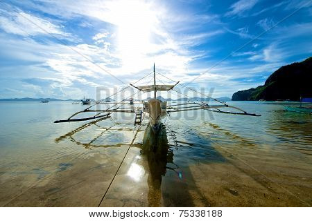 El Nido Sailboat