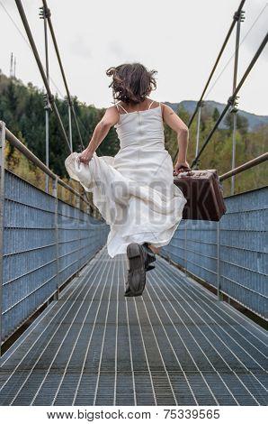 Bride Escaping