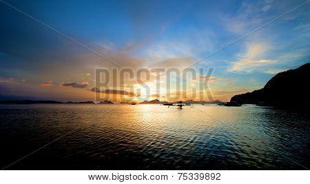 El Nido Sunset Landscape