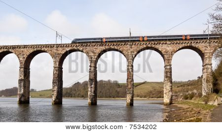 Railway Viaduct in Berwick Upon Tweed