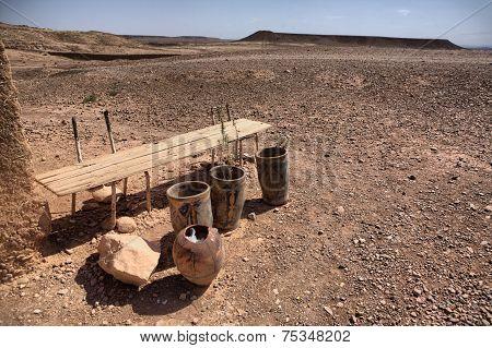 Ksar Ait Ben Haddou Arid Outskirts