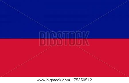 Haiti Flag - Civil Version