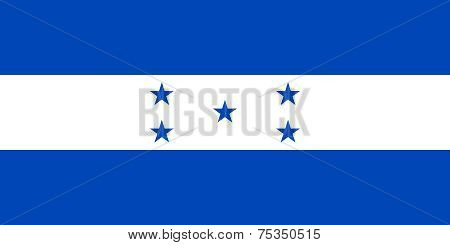 National Flag Of Honduras